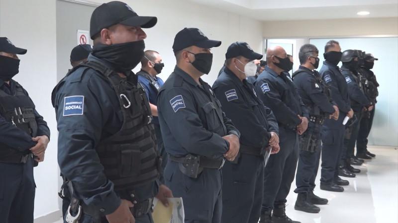 Se dará otra oportunidad y capacitación a policías