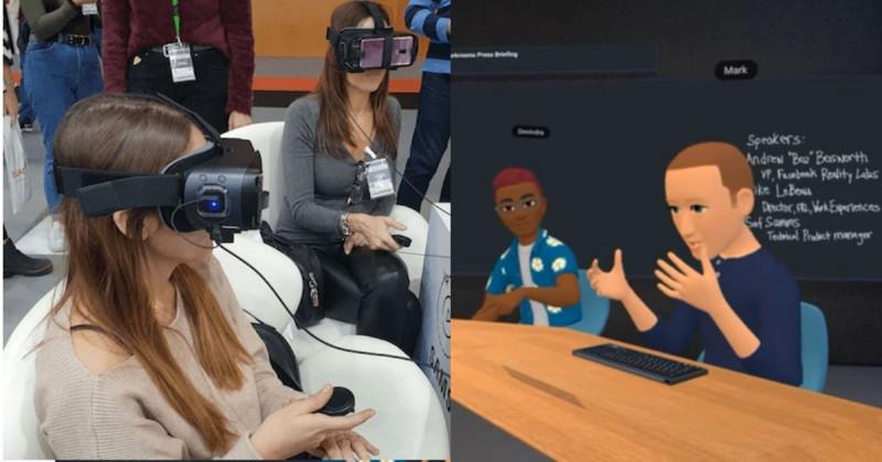Facebook lanzará plataforma para reuniones con realidad virtual