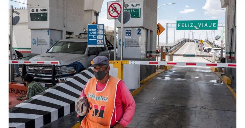 EEUU alarga el cierre de sus fronteras terrestres hasta el 21 de septiembre