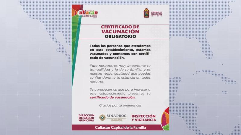 Certificado de vacunación obligatorio en antros y bares