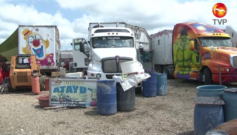 Circo se queda varado en Mazatlán, solicita apoyo a los ciudadanos