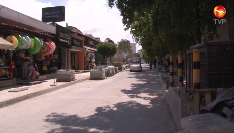 Abren a la circulación vial la Avenida Playa Gaviotas de Zona Dorada
