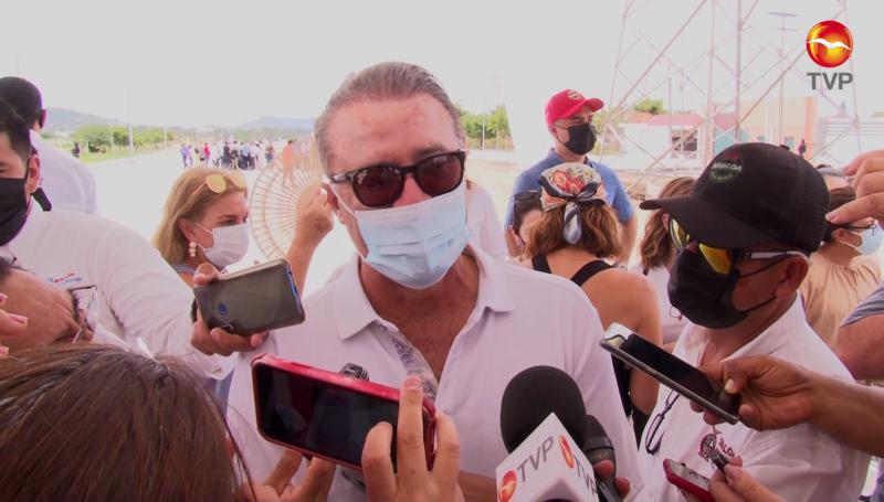 En Sinaloa bajó el número de casos covid  por eso cambió el color del semáforo, asegura el Gobernador