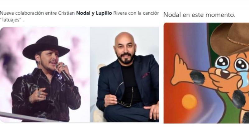 """¿Nodal cantando con Lupillo? Estos son los mejores memes del """"rompimiento"""" de Belinda y Nodal"""