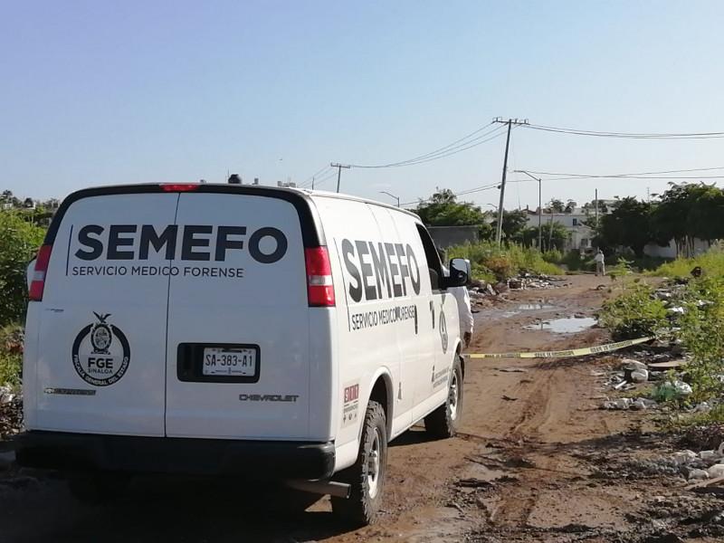 Encuentran asesinada a una persona presumiblemente a golpes al sur de Culiacán
