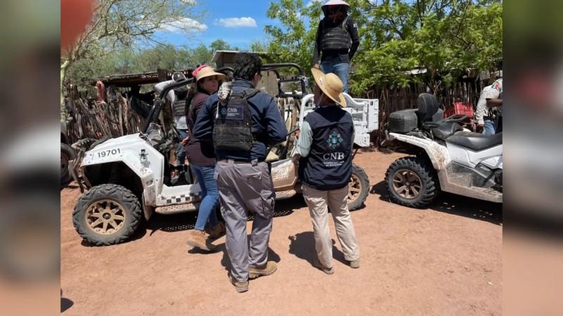 Rastreadoras de CO volverán a buscar a desaparecidos en Loma de Bácum