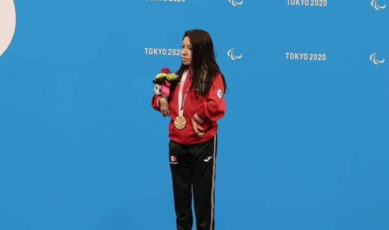 Fabiola Ramírez gana primera medalla para México en Paralímpicos