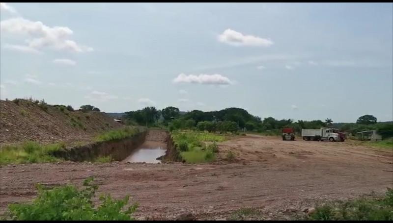 Avanza la construcción del distrito de riego 111 en Mazatlán