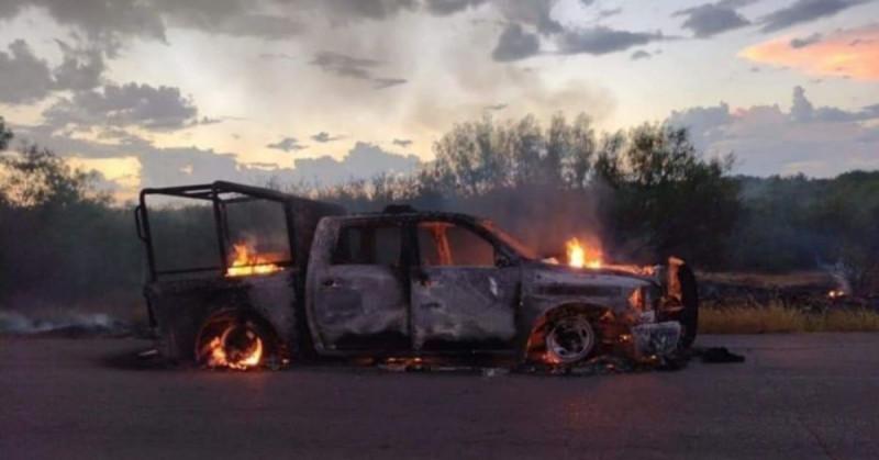 Difunden audio de estatales de Coahuila siendo emboscados por 50 camionetas de sicarios
