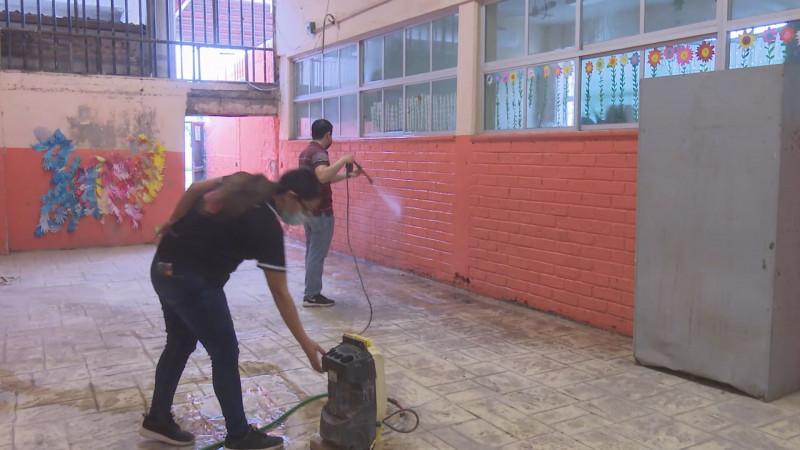 1 de cada 4 escuelas en México requieren de acciones inmediatas