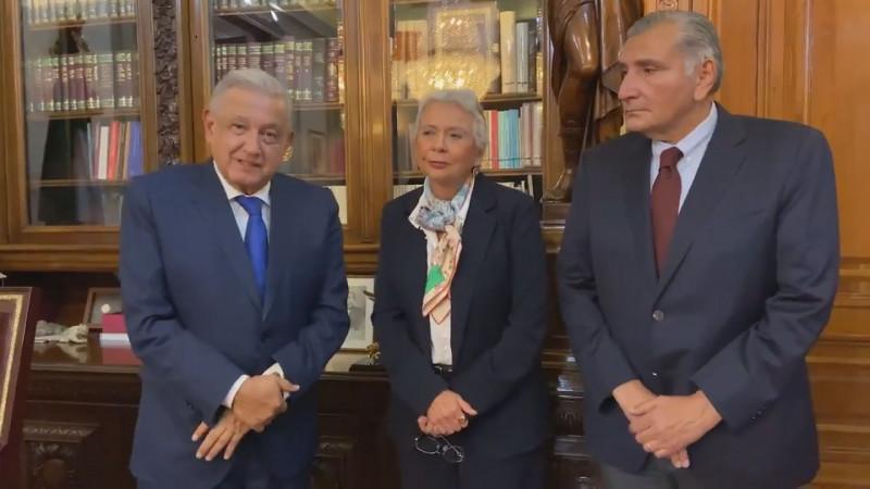 Olga Sanchez Cordero deja la SEGOB