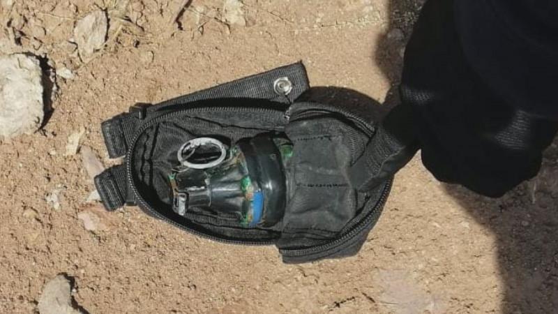Tras persecución aseguran granada de fragmentación al sur de Culiacán