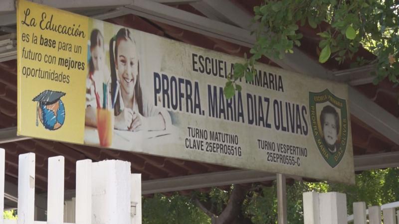 No tiene condiciones de recibir a los alumnos la escuela María  Díaz Olivas