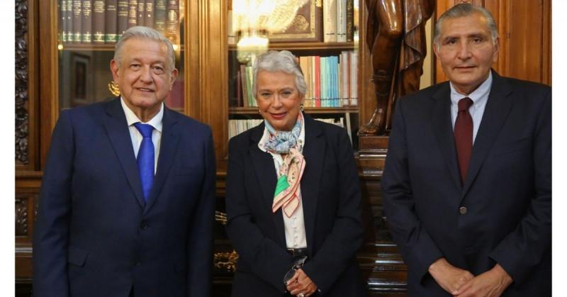 El gobernador de Tabasco releva a Olga Sánchez Cordero en la Secretaría de Gobernación