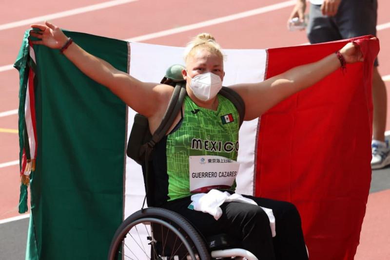 Bronce para Rosa María Guerrero en juegos Paralímpicos