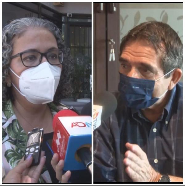 Cuén Ojeda y Graciela Domínguez firmes en el gabinete de Rocha Moya