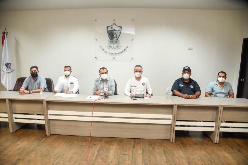 """Gobierno Municipal se declara listo para atender posibles efectos del Huracán """"Nora"""" en Ahome"""