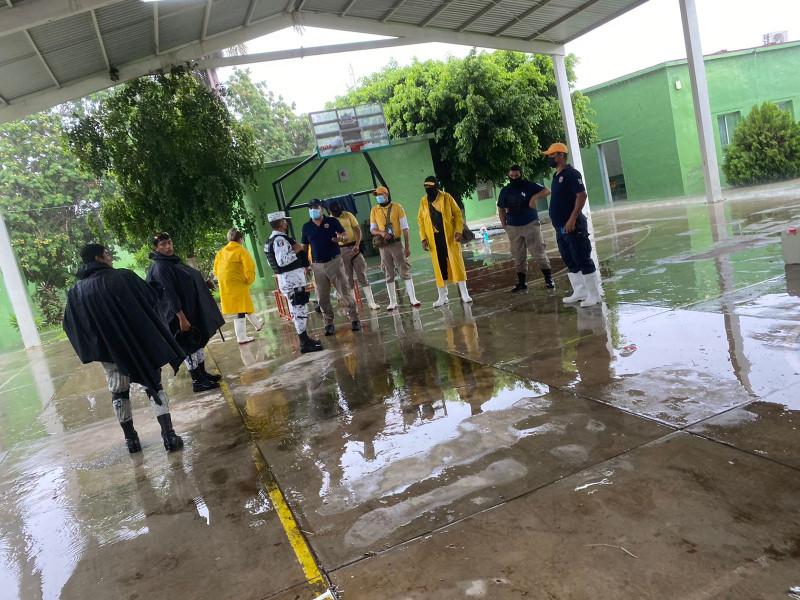 95 personas fueron evacuadas en zonas de alto riesgo de Rosario por el huracán Nora