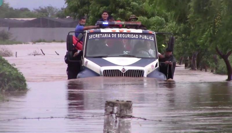 """Confía Alcalde de Mazatlán en recuperar zonas afectadas por """"Nora"""""""