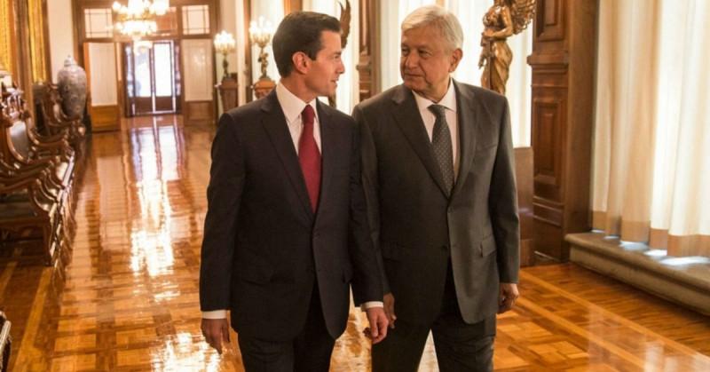 AMLO comenta que Peña Nieto le confesó sentirse traicionado