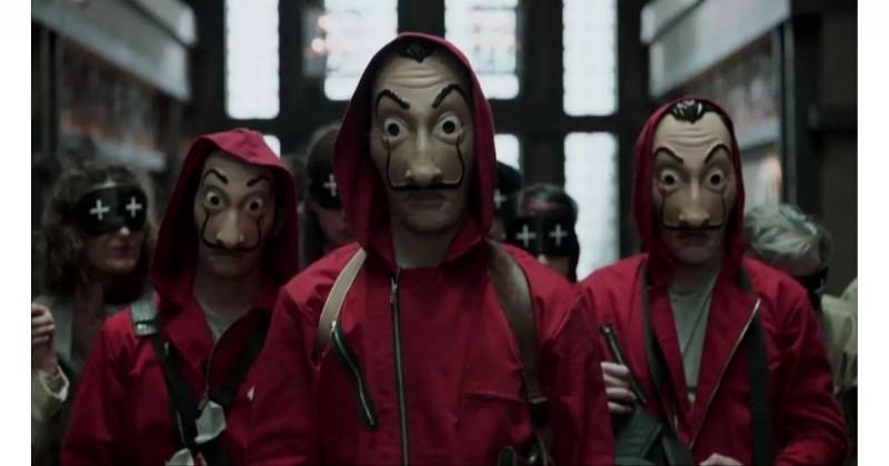 """El regreso de """"La Casa de Papel"""" y sus distintivos trajes rojos están a la vuelta de la esquina"""