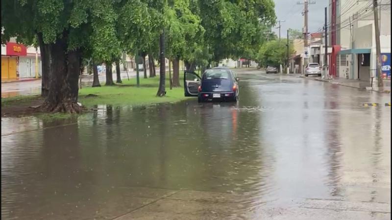 siguen las lluvias en Culiacán