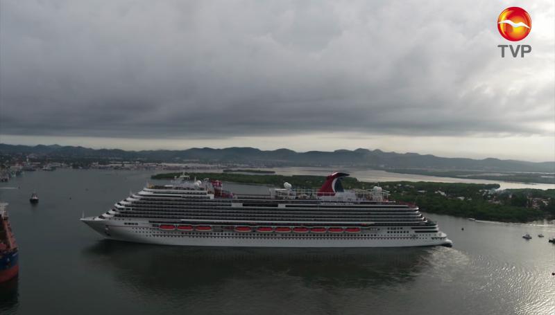 Posponen arribo de crucero turístico a Mazatlán