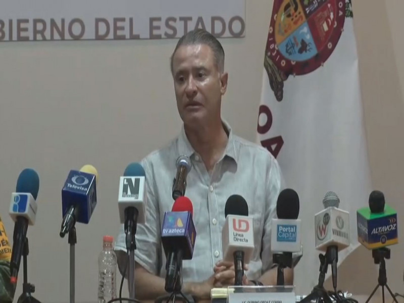 Solicita gobernador de Sinaloa Declaración de Zona de Desastre