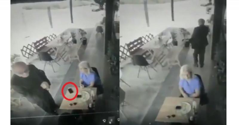 Sacerdote usa su biblia para robar el celular a turista en Playa del Carmen (video)