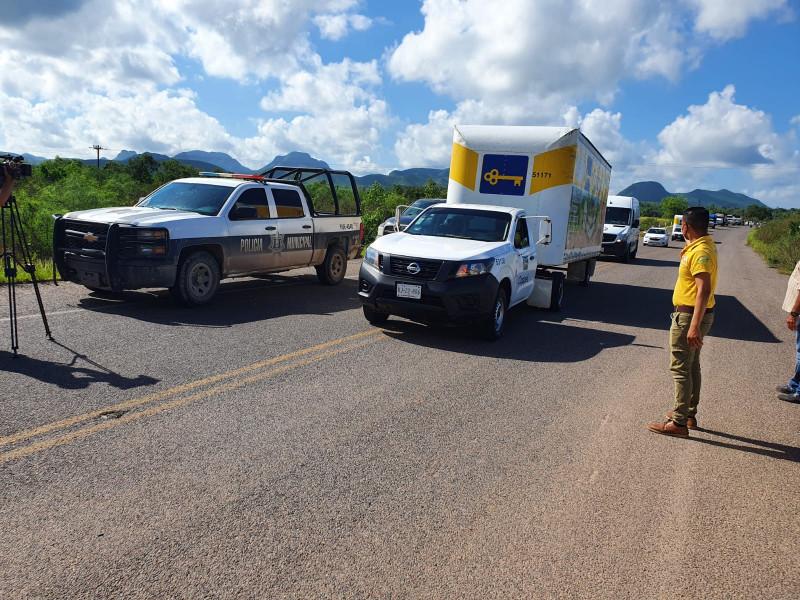 Reabren carretera Los Mochis-San Blas a la circulación