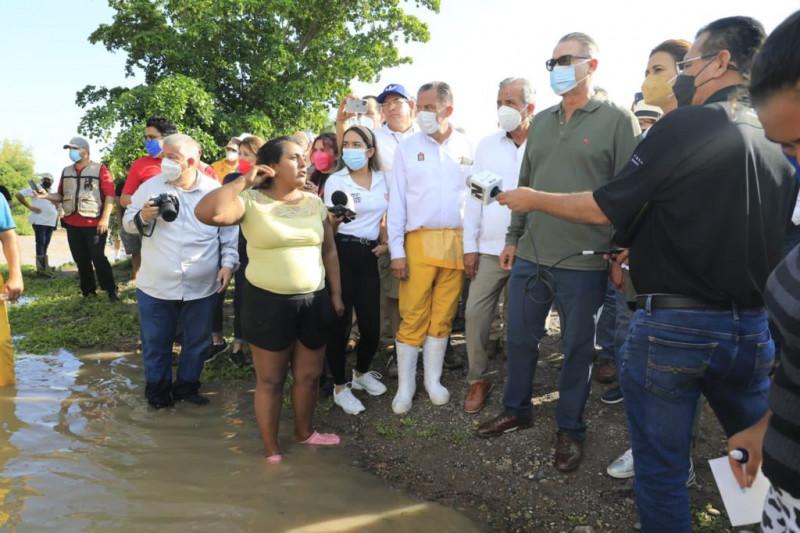 Inundaciones en La Flor no es solo responsabilidad de los módulos de riego