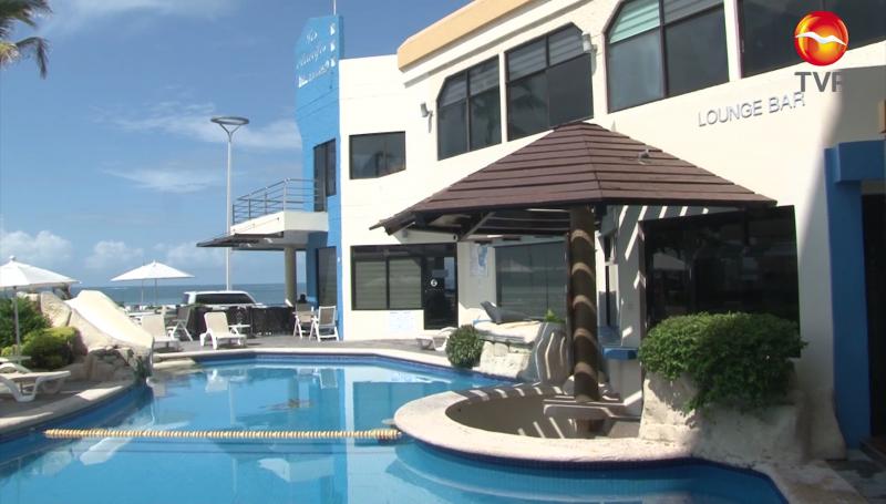 """Por """"Nora"""" turistas extienden su estadía en hoteles de Mazatlán"""