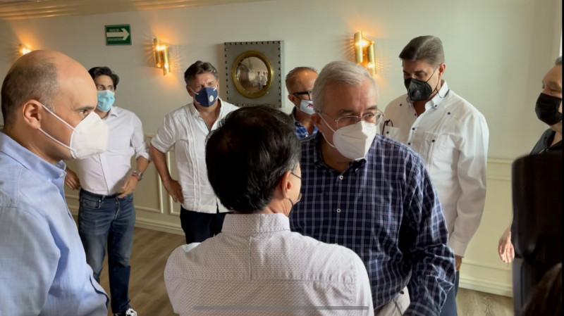 Se reune Gobernador Electo de Sinaloa, Rubn Rocha con directivos de la LMP