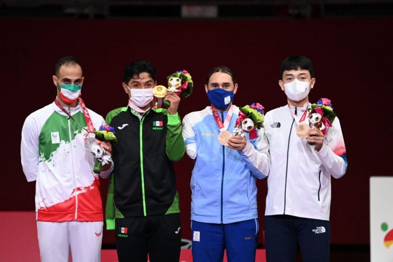 Juan Diego García da oro a México en los Juegos Paralimpcios de Tokio 2021