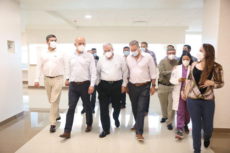 Casi listo el nuevo Hospital Pediátrico de Sinaloa