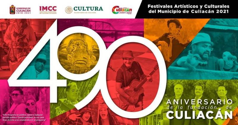 Dan a conocer programa cultural por el 490 Aniversario de Fundacion de Culiacán