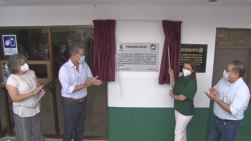 Escuela primaria STASE, un logro en beneficio de las familias de los trabajadores: Teresita Ochoa