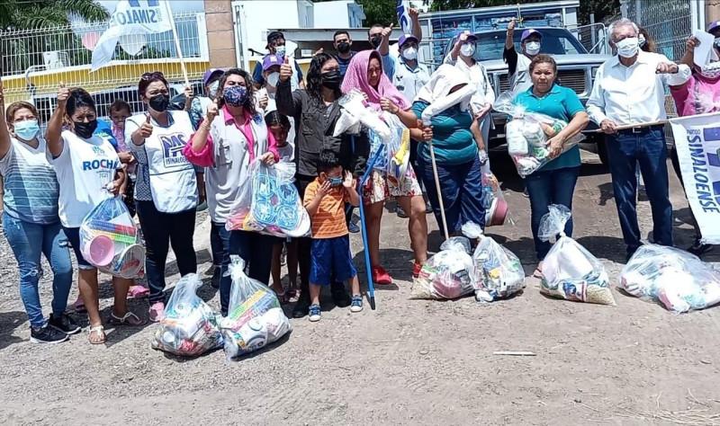 """Logra el PAS 30 toneladas de apoyo para los afectados por """"Nora"""""""