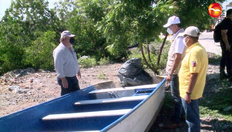 Jurisdicción Sanitaria 5 recorre zonas afectadas por inundaciones