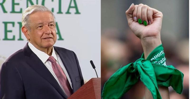 """López Obrador evita hablar del aborto: """"No puedo exponerme a un desgaste"""""""