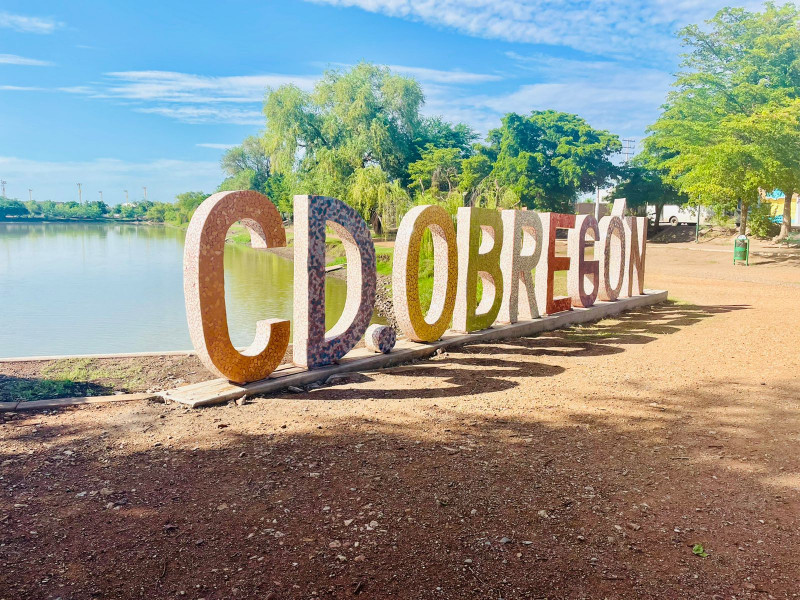 Tiene la Laguna del Náinari nuevo atractivo con nomenclatura de Ciudad Obregón