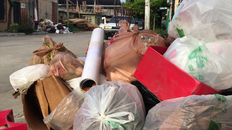 Por falta de acceso no les recogen la basura en la Francisco Villa