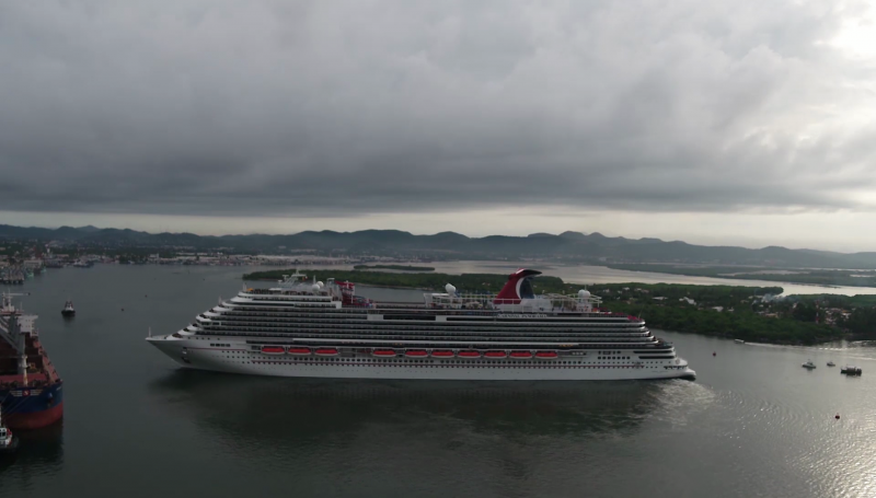 08 de septiembre llegará a Mazatlán crucero turístico