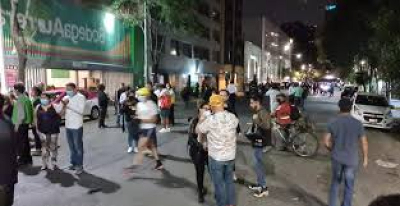 Sismo en Ciudad de México  de 7.1 provoca pánico