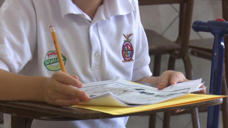 Escuela Antonio Rosales de Ahome única que ha regresado con pocos alumnos a las aulas