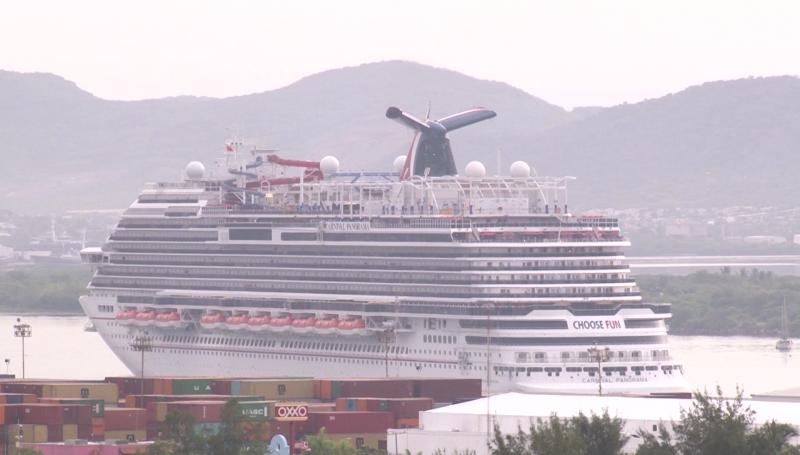 Llegó a Mazatlán el segundo crucero de la  temporada