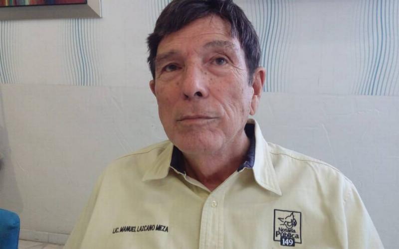 Detienen al Notario Público Manuel Lazcano Ochoa
