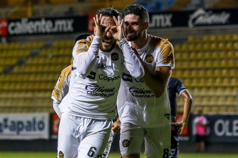 Dorados remonta y derrota 2-1 a Alebrijes