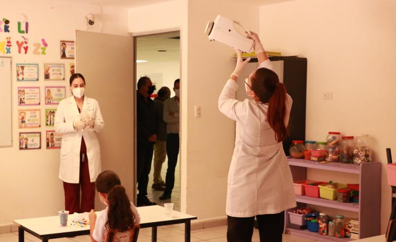Escuela primaria del STASE libre del  SARS-CoV-2
