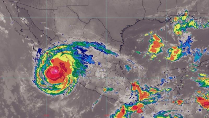 Dejará lluvias para Sinaloa el fenómeno natural Olaf